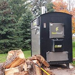 Outdoor Wood-Fired Boiler
