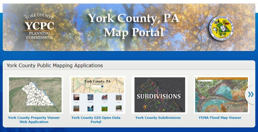 York County Map Portal